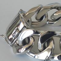 Super Chunky 35MM Identity Bracelet for Men | BY Silverwow
