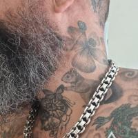 """Thidarat on his Unique heavy Bracelet x 15mm - 24"""" (61cm).jpeg"""