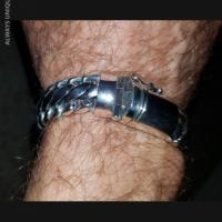 15MM Woven Snake Bracelet for Men | BY Silverwow
