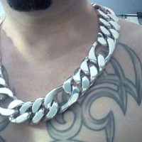 Heavy and Chunky Figaro Link Chain For Men | BY Silverwow