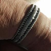 20MM Woven Bracelet for Men | BY Silverwow