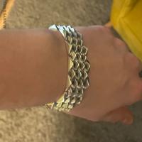 Heavy, Chunky Spike Bracelet for Men | BY SIlverwow