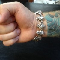 Skulls Bracelets - all big version