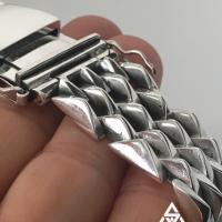 Super Chunky, Heavy Spike Sterling Silver Bracelet for Men | BY Silverwow