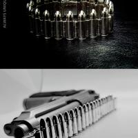 Bullet Bracelet for Men | BY Silverwow