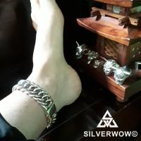 Men's Silver Hoop link Bracelet from Kyle from Candana