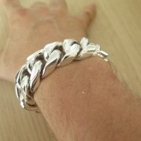 Huge 25mm Cuban Link Bracelet