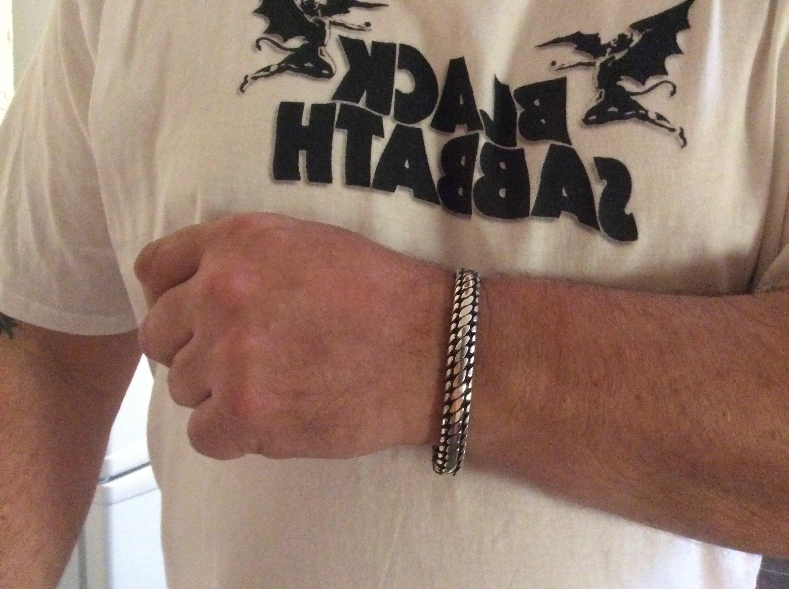 10mm Woven Snake Bracelet