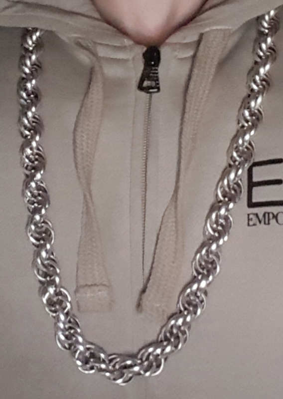 30 inch heavy rope silver chain Phil-3
