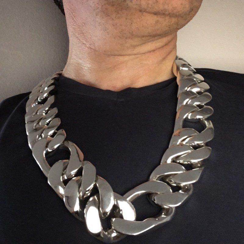 35mm Figaro Link Necklace