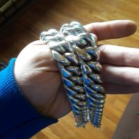25mm Cuban Chain Link Necklace posted by customer