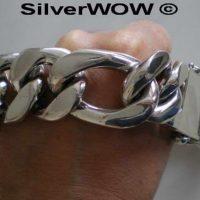 35MM Figaro Chain Bracelet