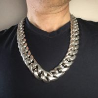 Huge Cuban Necklace Chain 25mm x 26 inches1
