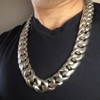 Huge Cuban Necklace Chain 25mm x 26 inches3