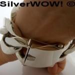 35mm Mens Silver Bracelets
