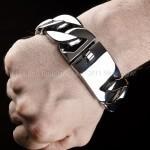 Big Heavy Stainless Steel Bracelet x 30mm wide