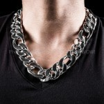 25mm Figaro Chain Necklace