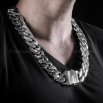 Chunky Heavy 25mm Mens Necklace