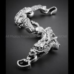 Mens Dragon Bracelet
