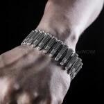 Mens Silver Bullet Bracele